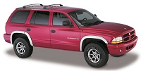 Dodge Durango 1997 tagumised kollased suunad