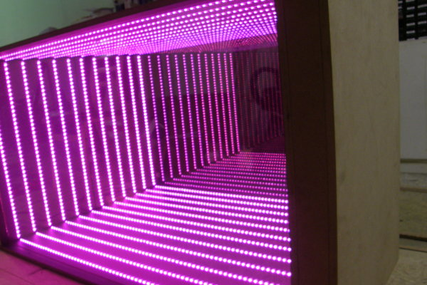 Macustom Projects Nightclub Led Infinity Mirror
